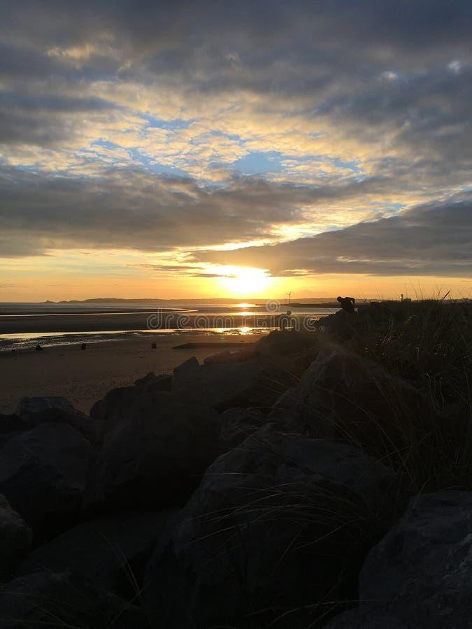 Sueños de la puesta del sol imágenes de archivo libres de regalías