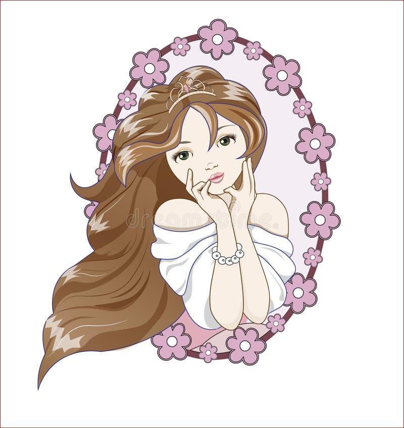 Sueños de los incess de Prbeautiful libre illustration
