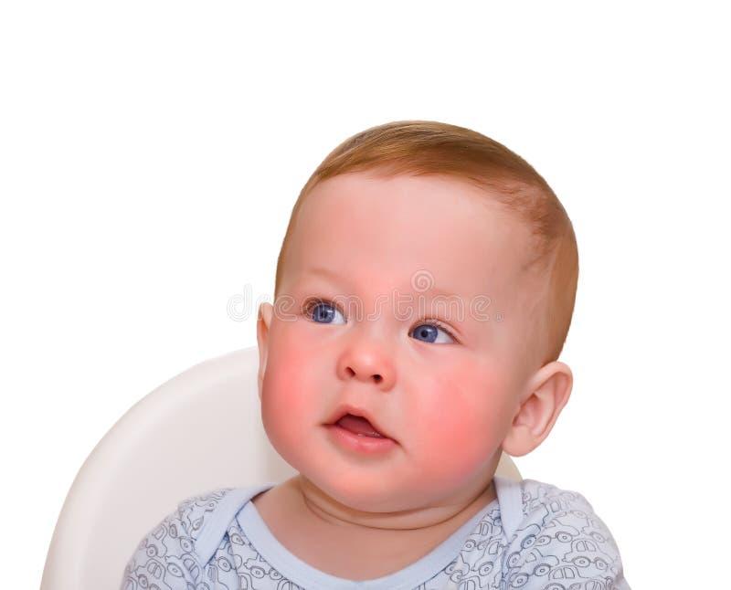 Sueños del bebé foto de archivo