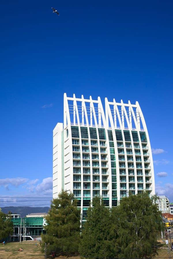 Sueños del hotel en Valdivia, Chile fotos de archivo