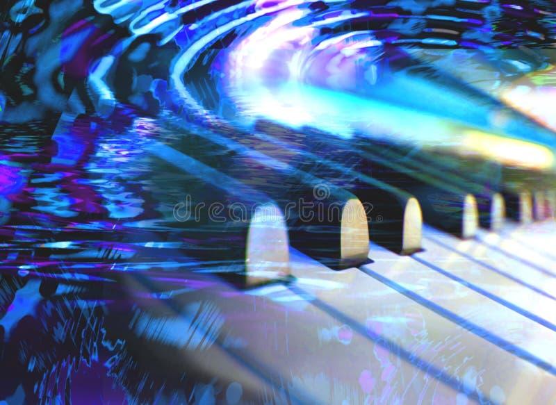 Sueños del piano fotografía de archivo
