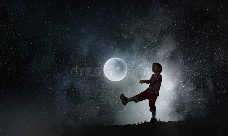 Sueños dulces infantiles imágenes de archivo libres de regalías
