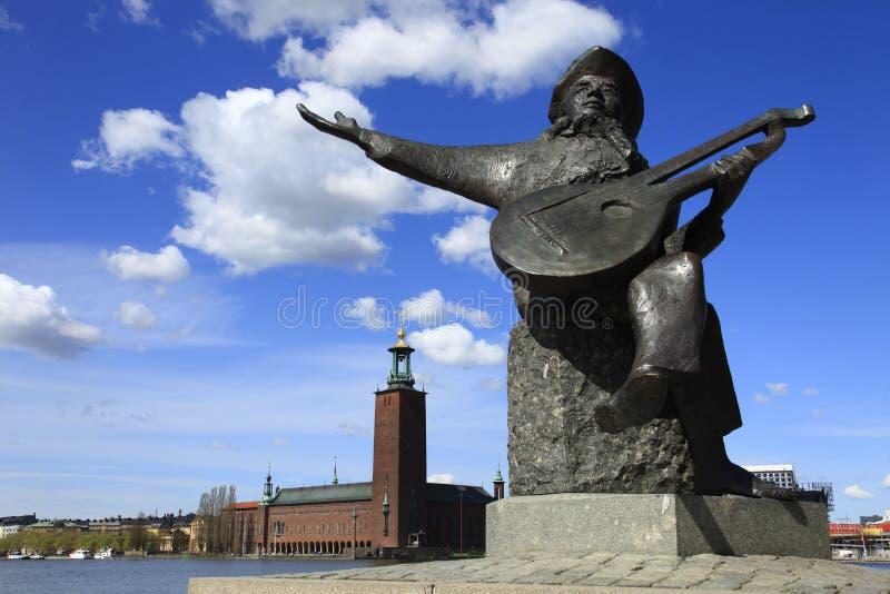 Suecia, Estocolmo, el ayuntamiento imagen de archivo libre de regalías