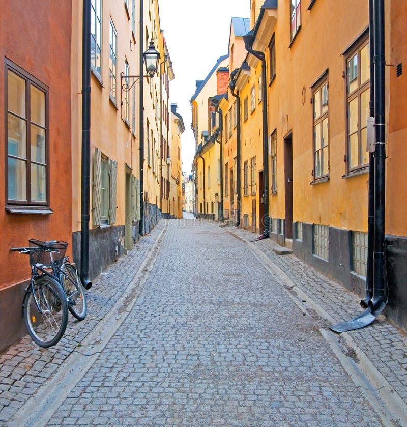 Suecia. Estocolmo. Gamla Stan. foto de archivo