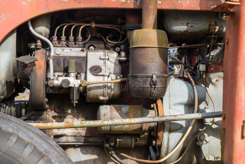 Suecia Orebro 04 09 2017 motores de tractor de Ferguson foto de archivo libre de regalías