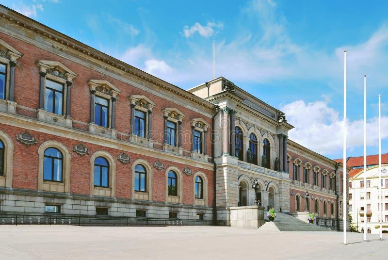 Suecia. Universidad de Uppsala fotografía de archivo libre de regalías