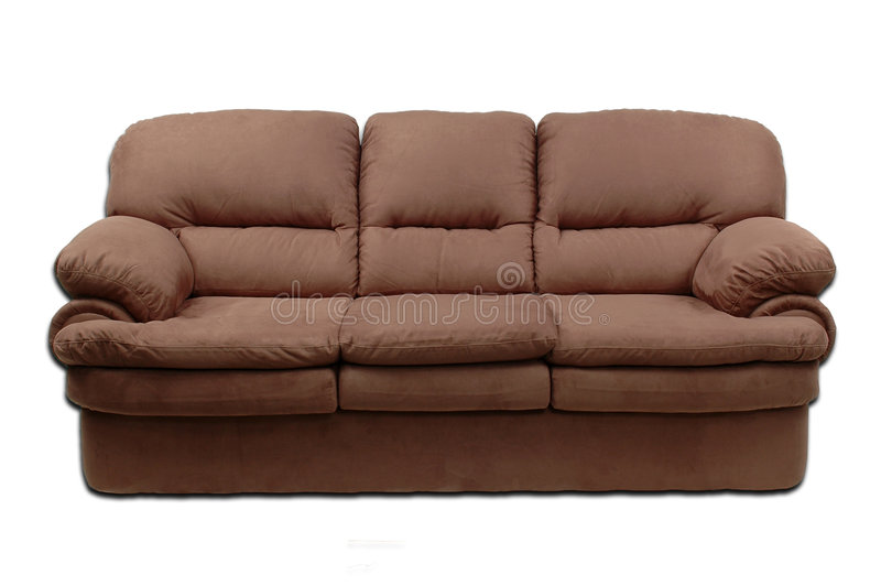 Download Suede Sofa Stock Photo. Image Of Comfortable, Armchair   5560124