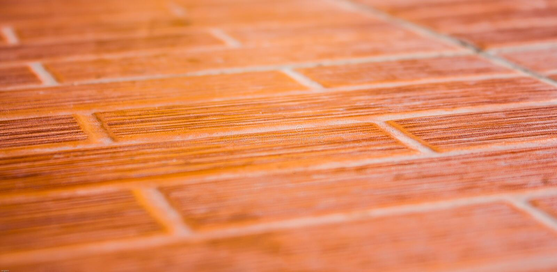 suelo de baldosas de cermica anaranjado fotos de archivo libres de regalas