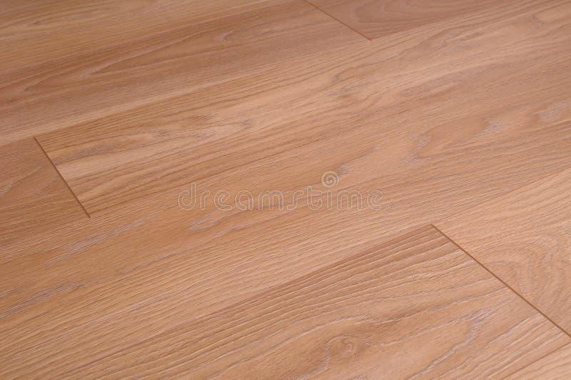 suelo de madera de la lamina del suelo imagen de archivo