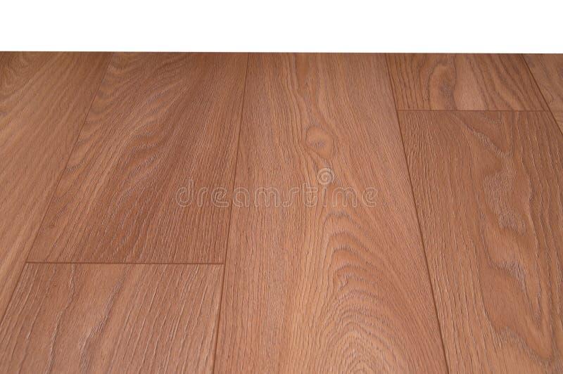 suelo de madera de la lamina del suelo foto de archivo libre de regalías