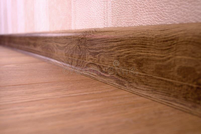 suelo de madera de la lamina del suelo imagenes de archivo