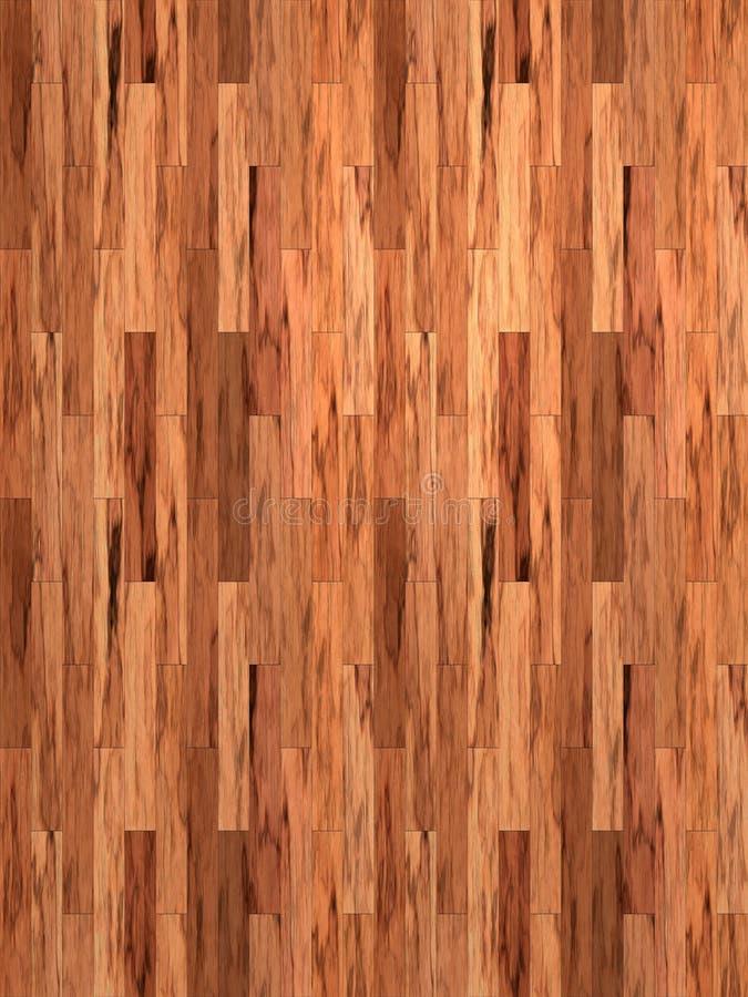 Suelo de madera laminado de la caoba libre illustration