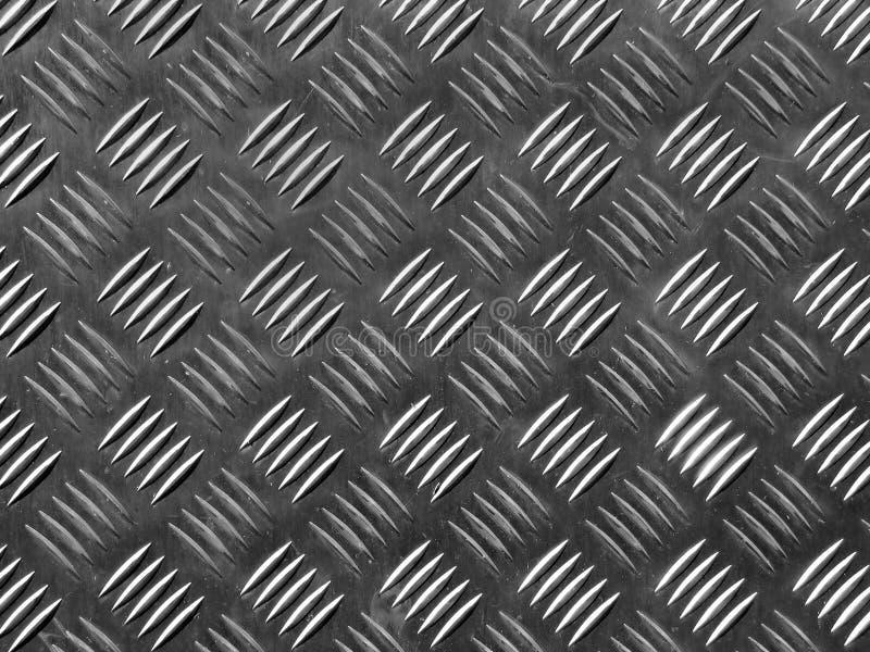 Suelo del metal fotografía de archivo