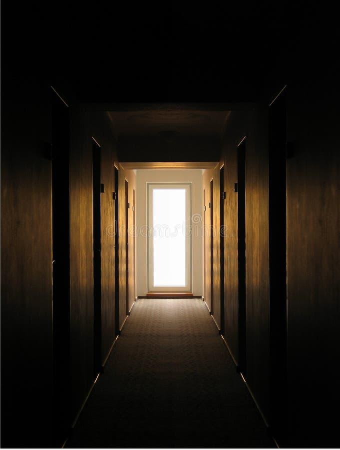 Suelo vacío del hotel foto de archivo