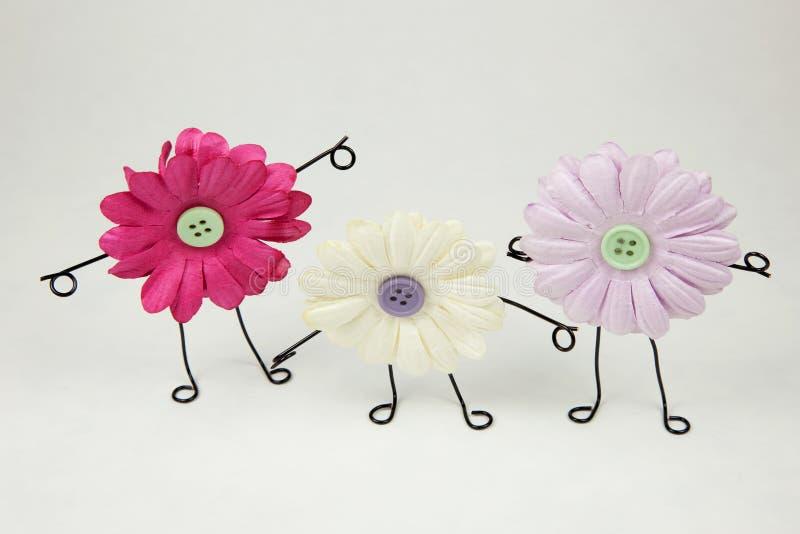 Suelta los nuevos amigos la floración imagen de archivo