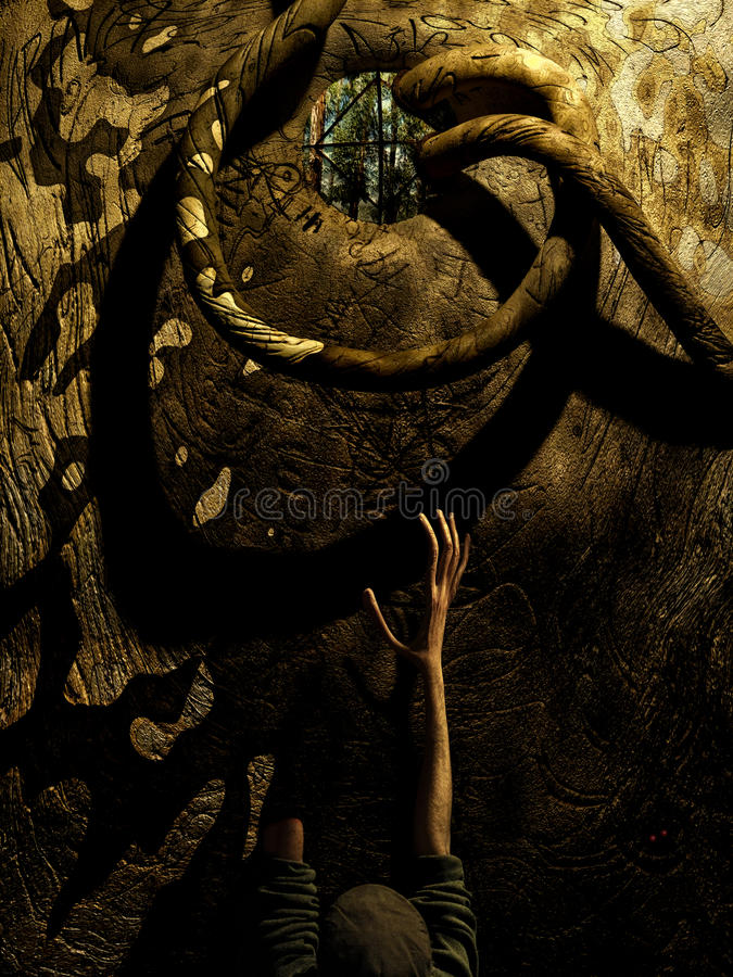 Sueno Del Prisonero (sogno del prigioniero) immagine stock libera da diritti