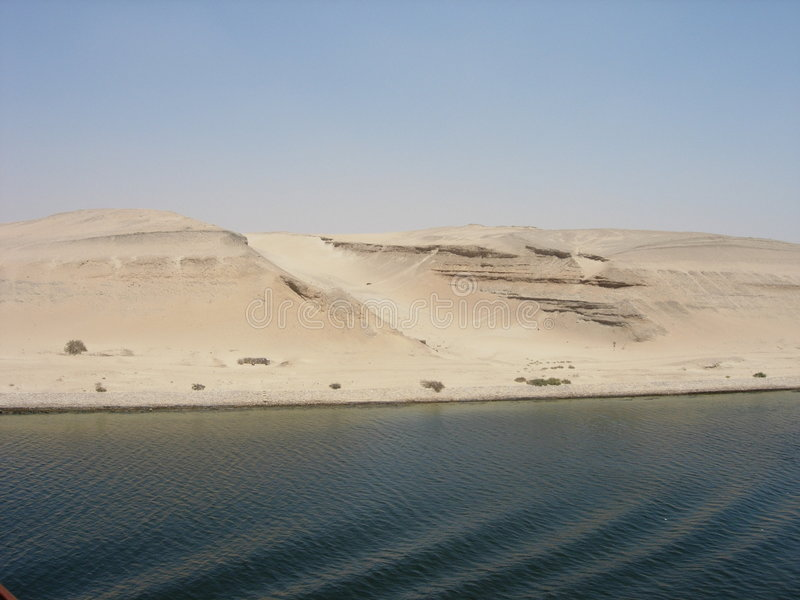 Suez Canal royalty free stock photography