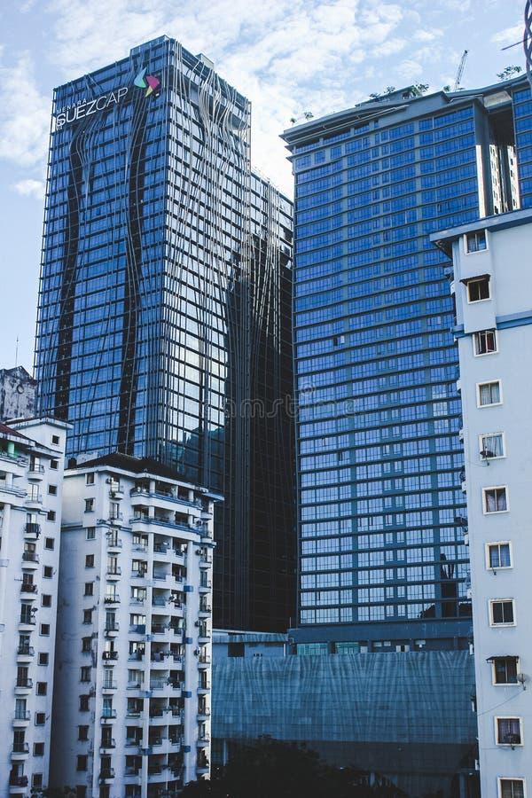 Suezcap building in Petaling Jaya Kuala Lumpur. A photo of a completed building of Suezcap in KL gateway University Petaling Jaya Malaysia stock photo