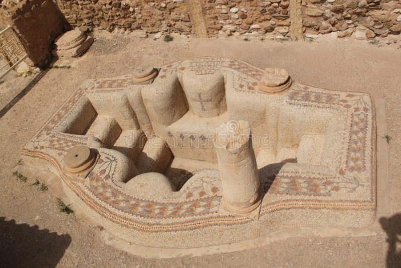sufetula baptistry стоковые изображения rf