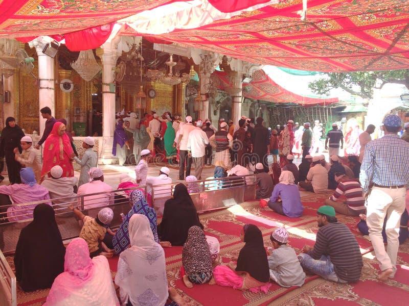 Sufi-Schrein Ajmer Sharif Dargah stockfoto