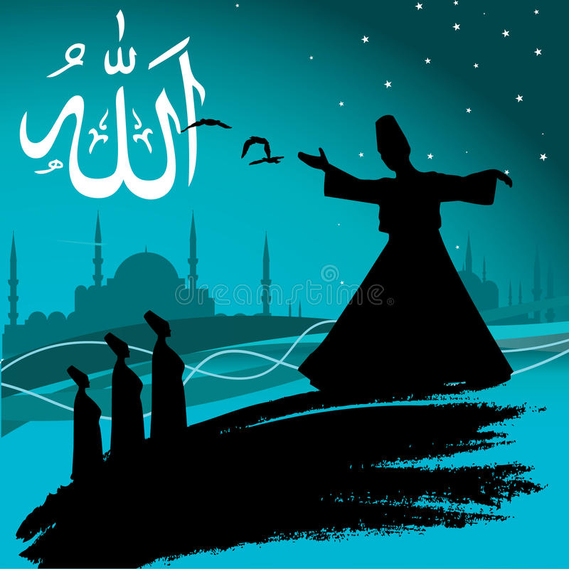 sufism royalty ilustracja