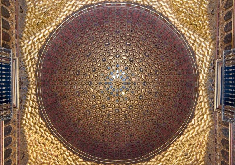 sufit arabskiej styl obrazy royalty free