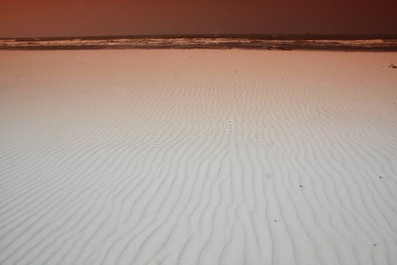 sufr和海岸线照片海滩的 免版税库存照片