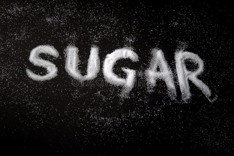 Sugar stock image