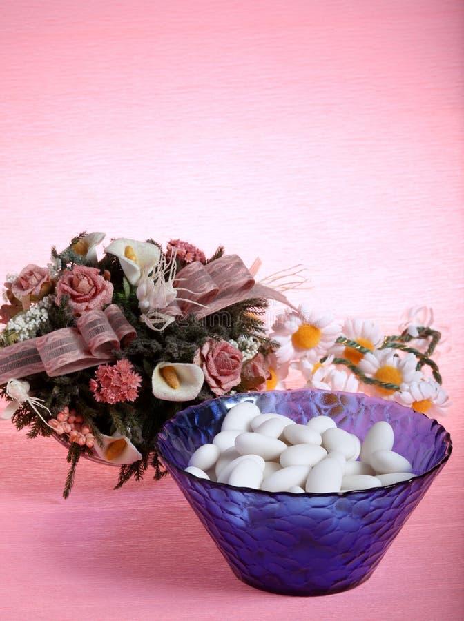 Sugar Almonds Stock Image
