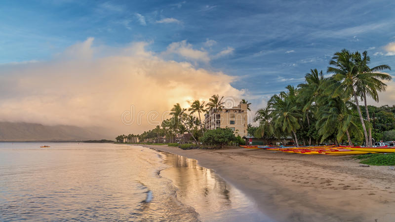 Sugar Beach Canoe Club royalty free stock photo