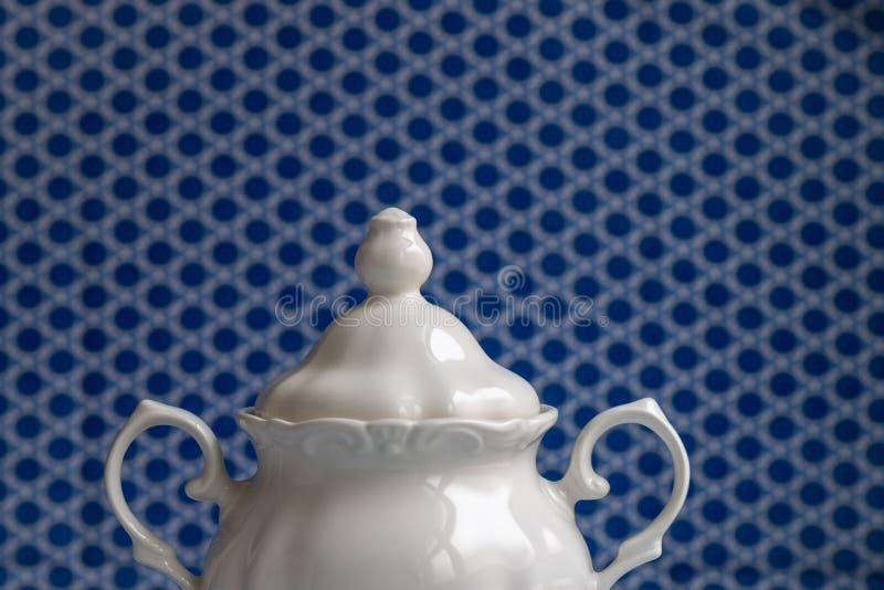 Sugar Bowl blanco imagen de archivo