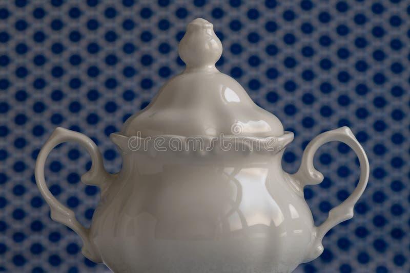 Sugar Bowl blanco fotos de archivo