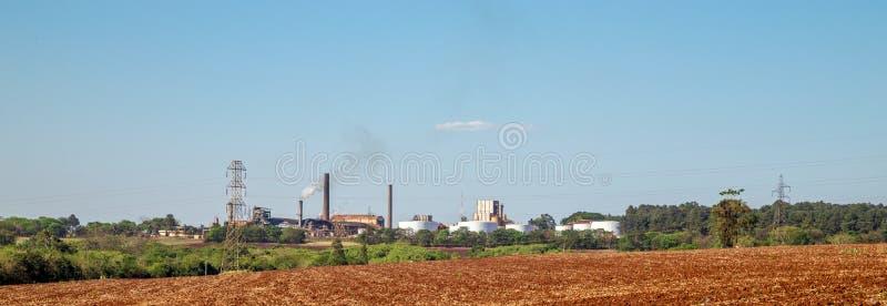 Sugar Cane Industry fotografia stock libera da diritti