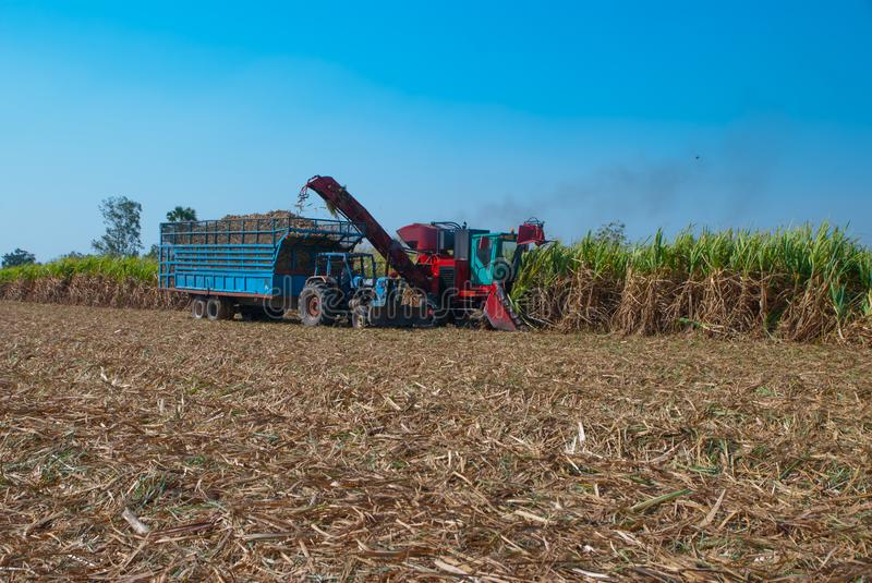 Sugar Cane Machine, Sugar Cane Machine in Thailand stock images