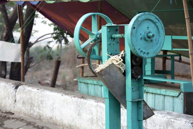 Download Sugar cane press machine stock photo. Image of tool, mill - 33542254