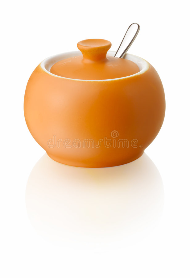 Sugar container royalty free stock image
