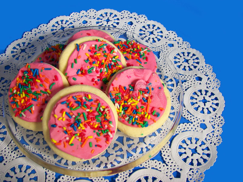 Download Sugar Cookies stock image. Image of kitchen, layer, confection - 2840749
