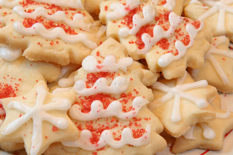 Sugar cookies stock photography