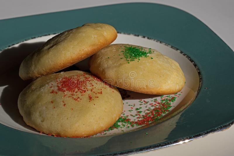 Sugar Cookies in Natural Light royalty free stock image