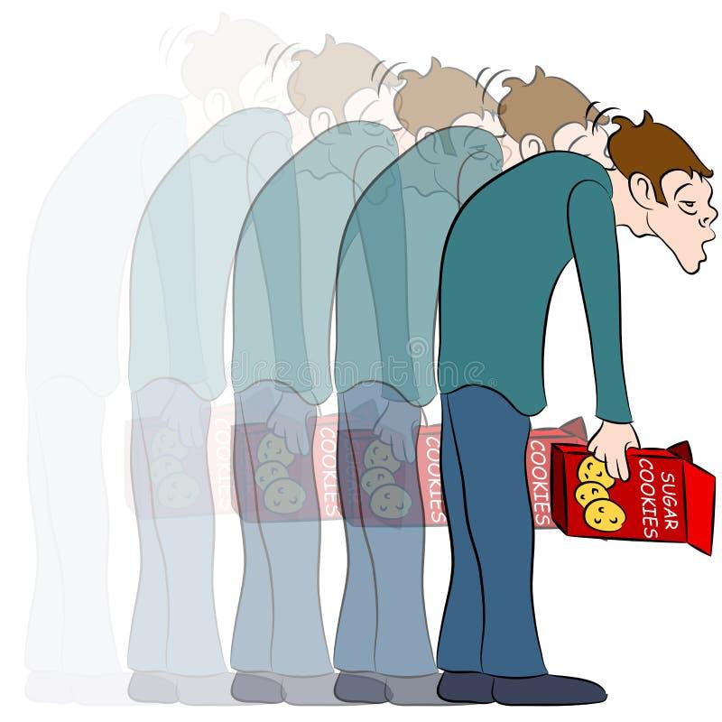Sugar Crash stock illustrationer
