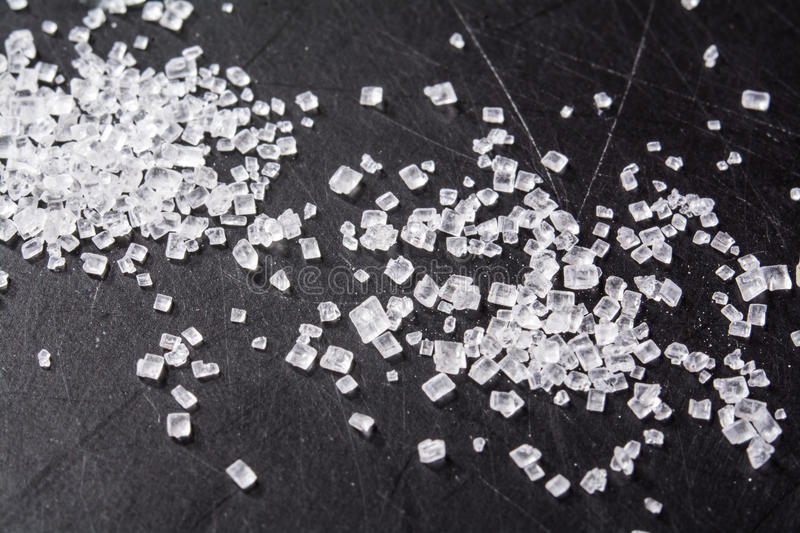 Sugar Crystals royaltyfri bild