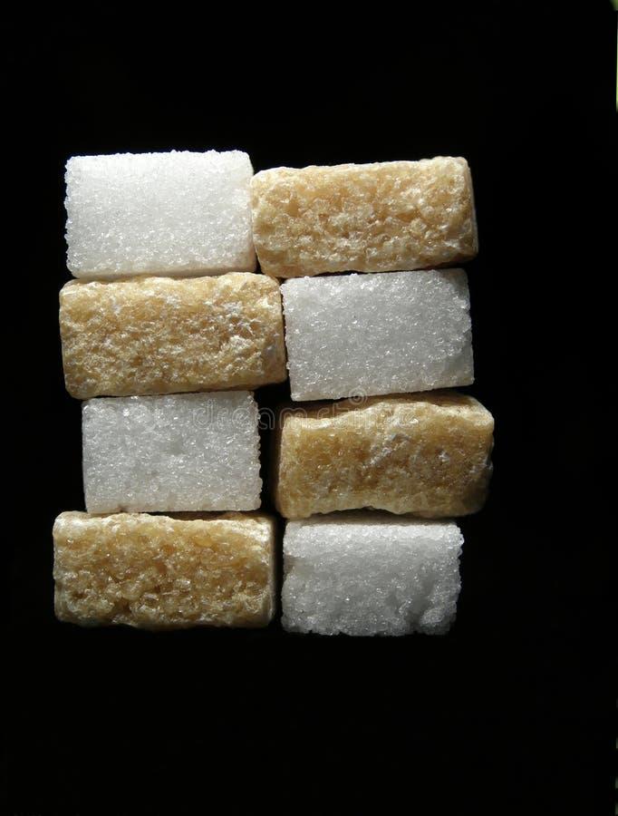 Sugar cubes royalty free stock photo