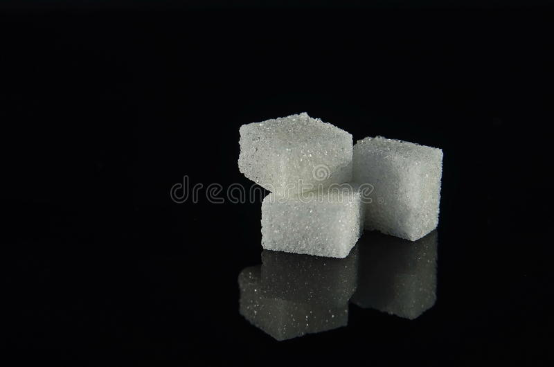 Sugar Cubes royaltyfri bild