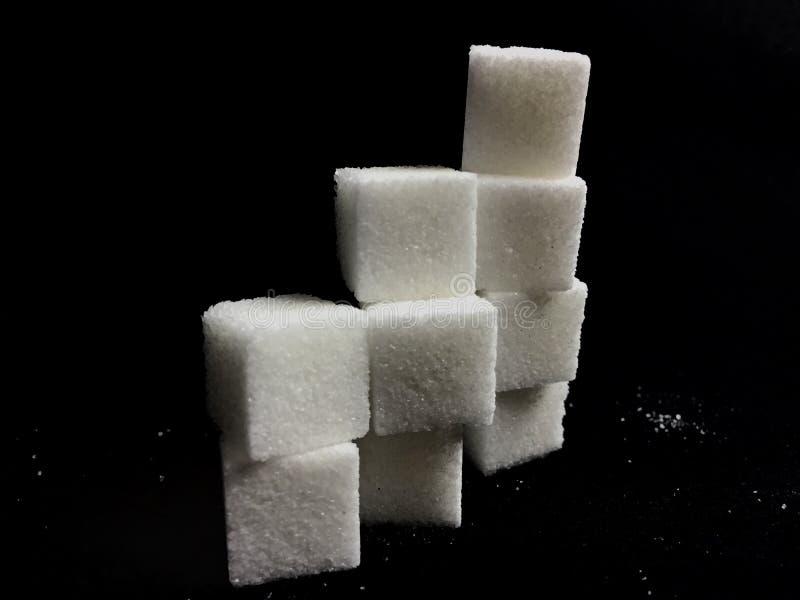 Sugar Cubes fotografering för bildbyråer