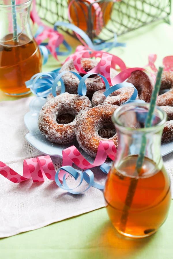 Sugar Donuts fotos de archivo libres de regalías