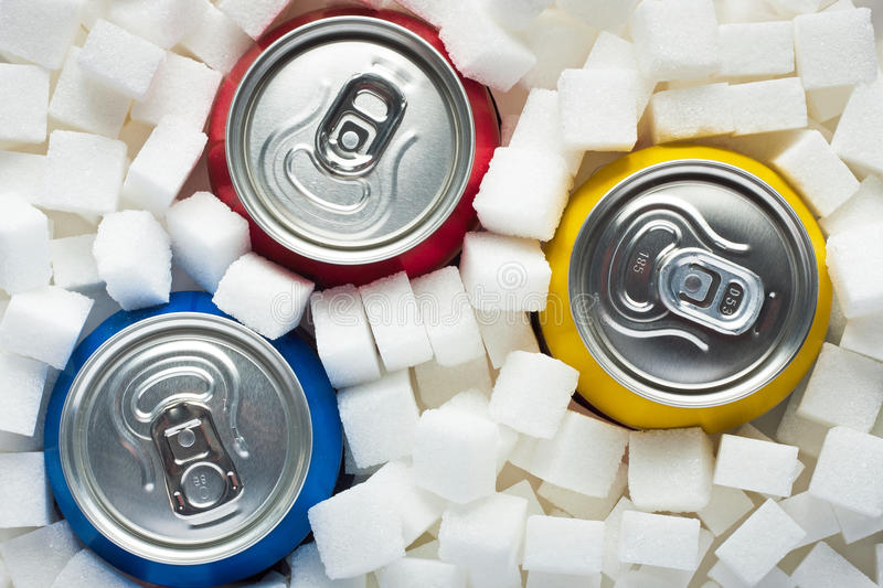 Sugar in food royalty free stock images
