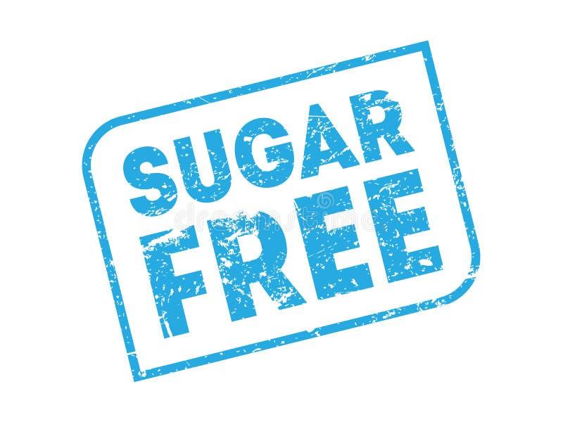 Sugar Free Vector Stamp libre illustration