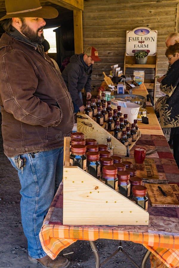 Sugar House de Duff na exploração agrícola justa do gramado fotografia de stock royalty free