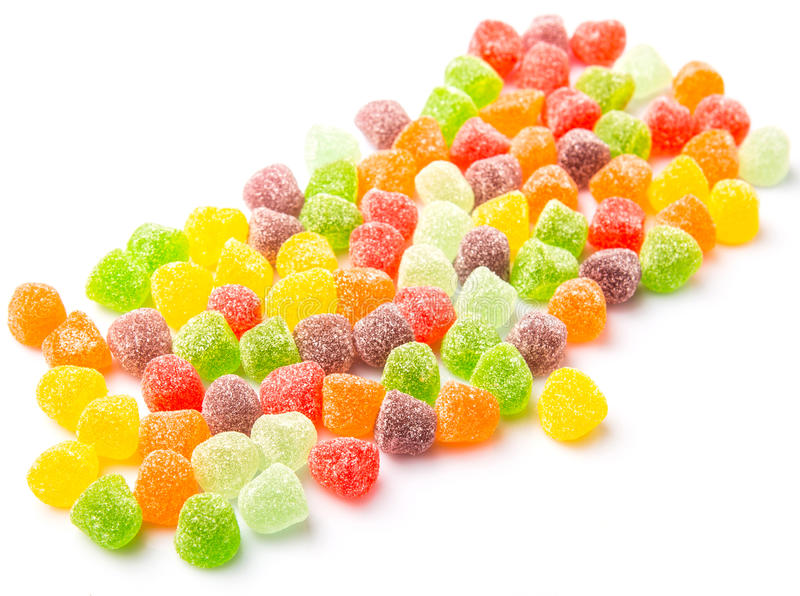 Sugar Jelly Candy VII imagens de stock