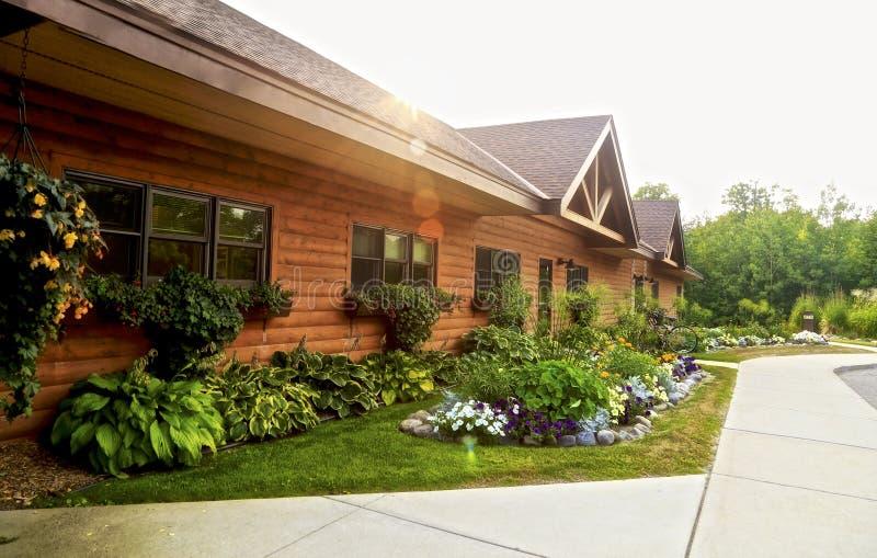 Sugar Lake Lodge lizenzfreie stockfotos